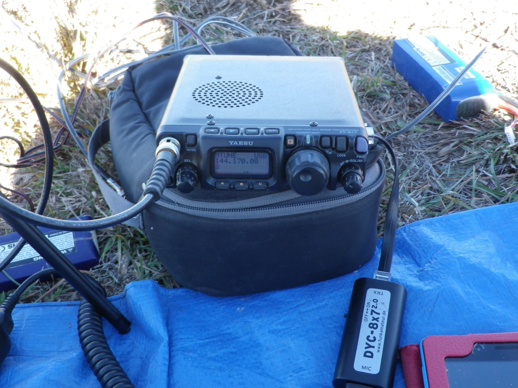 Two SOTA summits activated for VHF/UHF winter field day
