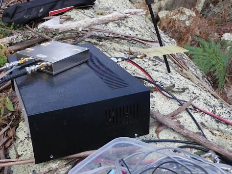 Two UHF transverters